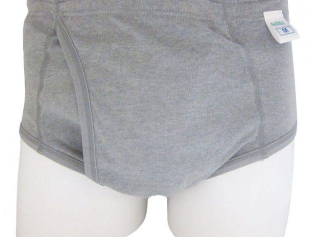 【乾燥機OK】ソフト吸収パンツ【ブリーフタイプ】 30cc | 日本エンゼル | 3188-A | 男性用尿漏れパンツ | 失禁パンツ